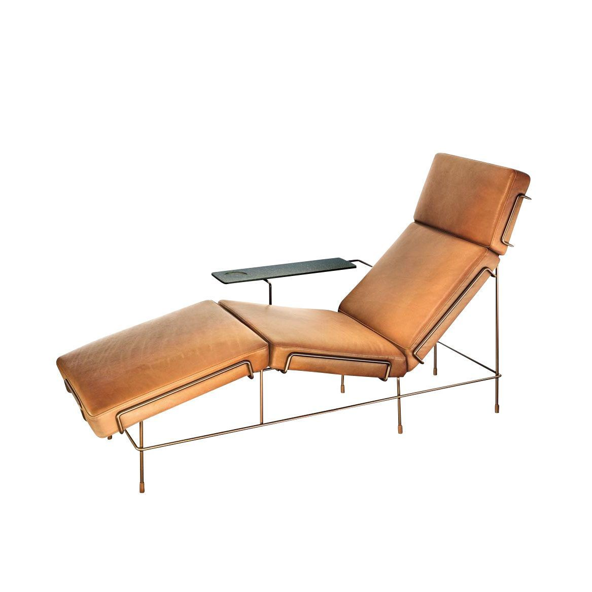 Chaise Lounge Sofa Leder