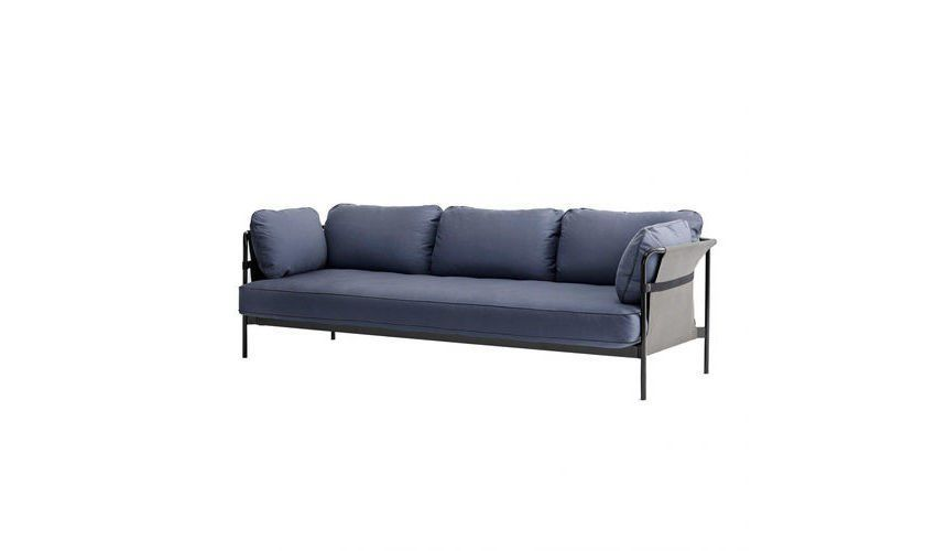 x82x休闲娱乐_hay - can 3-seater sofa - blue/fabric canvas blue/247x82x89.