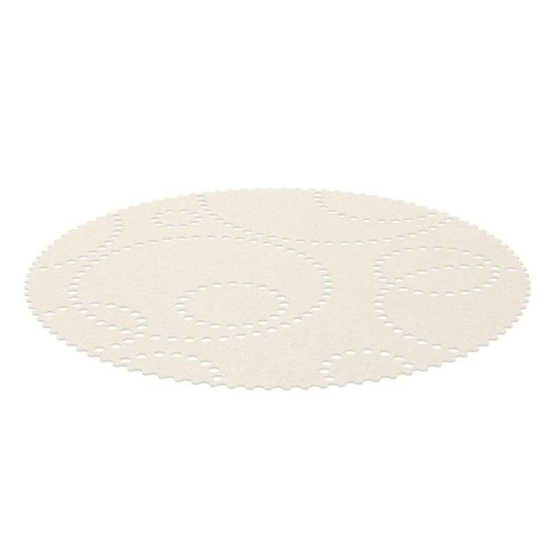 Teppich rund grau filz  Stamp Teppich rund | Hey-Sign | AmbienteDirect.com