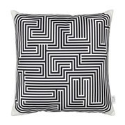 Vitra - Graphic Print Pillow Maze Kissen 40x40cm