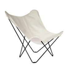 cuero - Sunshine Mariposa Sunbrella Outdoor Butterfly Chair