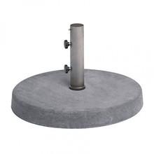 Weishäupl - Pie de sombrilla concreto 50kg casquillo Ø4cm