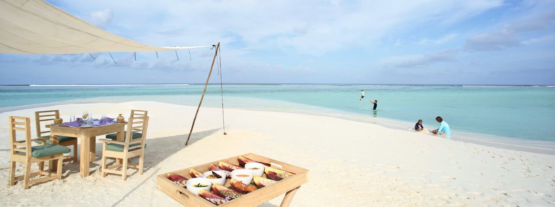 4 Strand Malediven