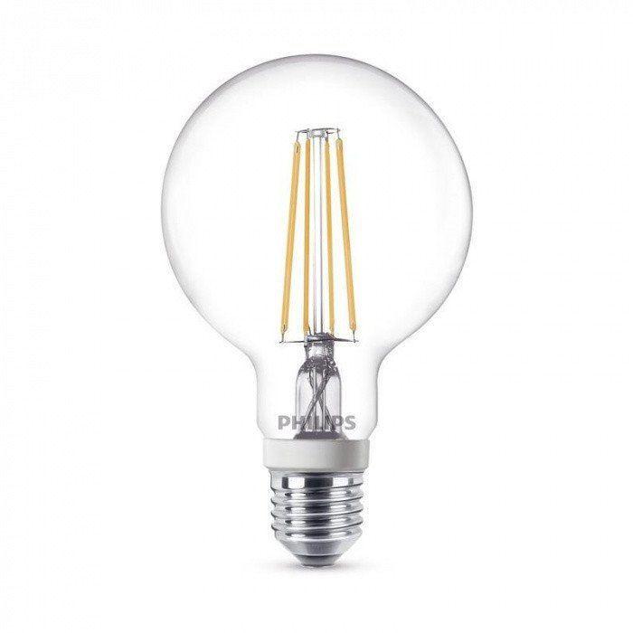 led e27 globe filament 300 7w 60w qualitylight. Black Bedroom Furniture Sets. Home Design Ideas