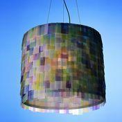 Anthologie Quartett - Light Colors Suspension Lamp - intensive (2003)/paper/33x40cm