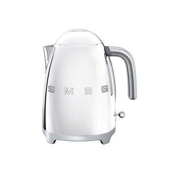 Smeg - SMEG KLF01 Wasserkocher 1,7L - edelstahl/lackiert/integriertes Heizelement/Soft-Opening