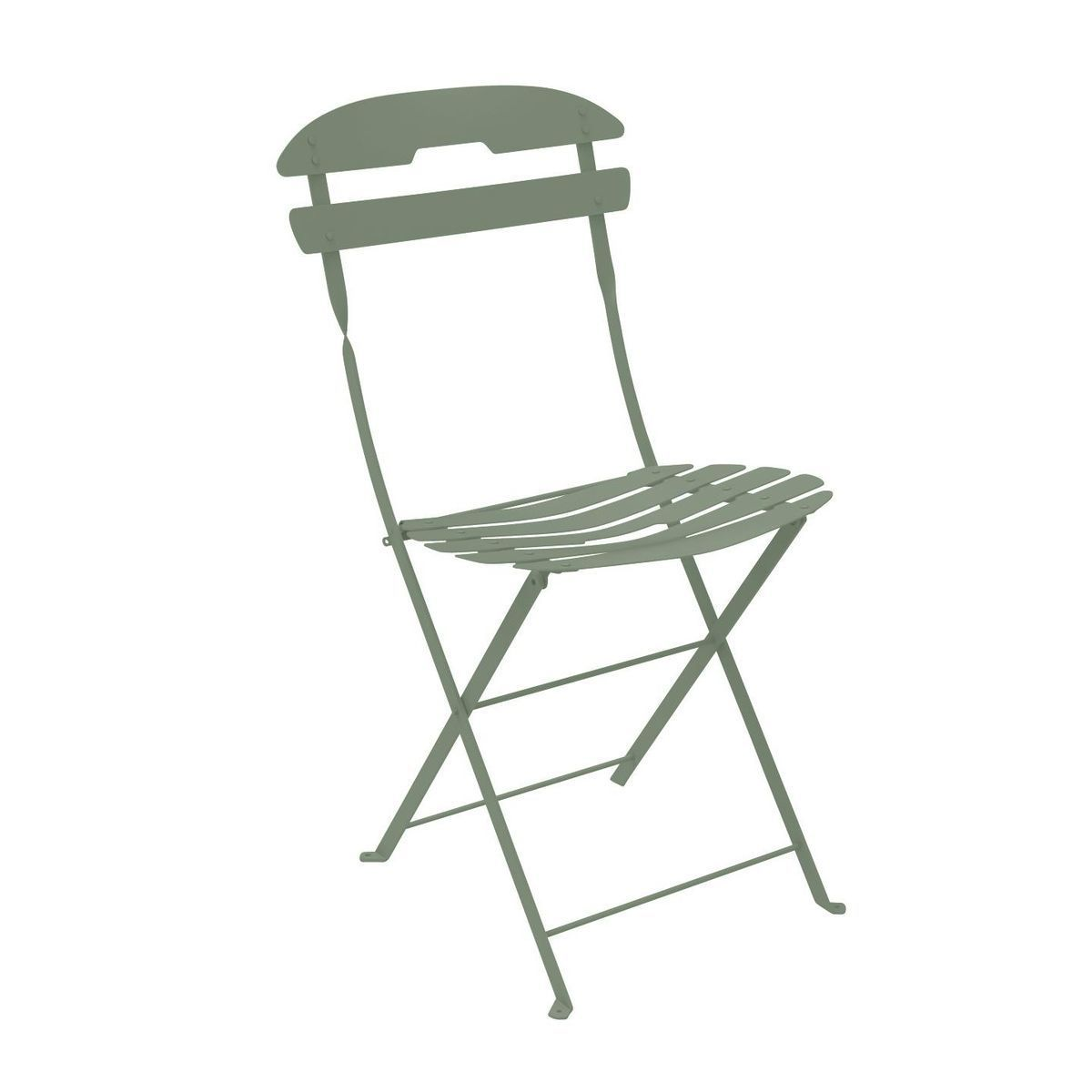 Fermob La Mome Garden Chair Folding Chair Green Cactus Hle Steel Seat