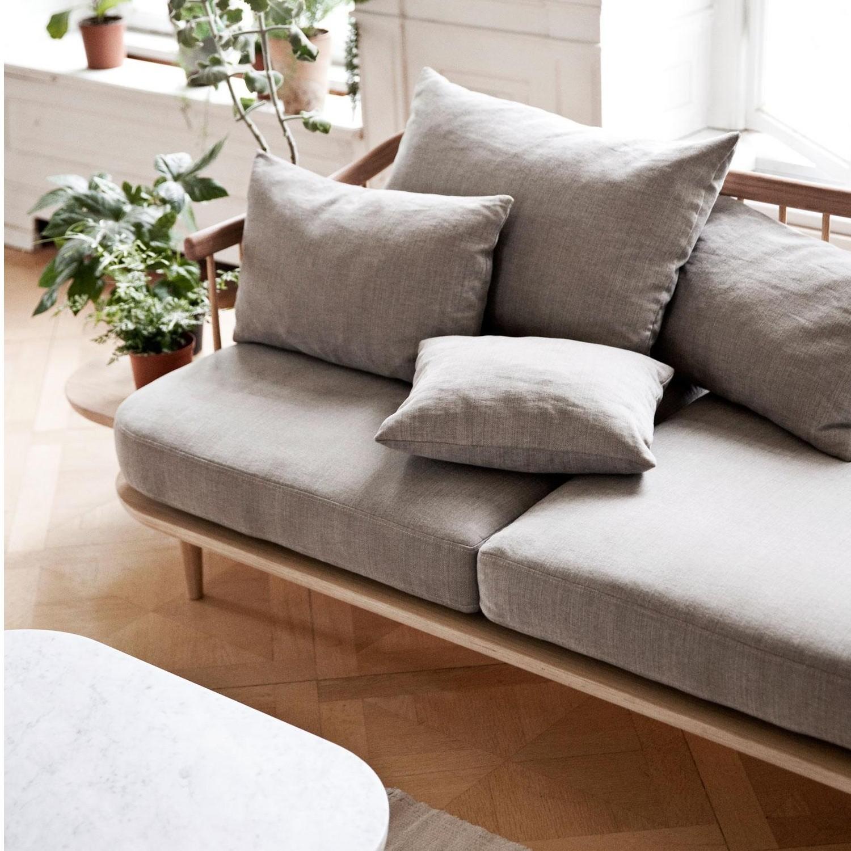 &tradition fly sc3 2-sitzer sofa mit ablage | ambientedirect