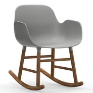 Normann Copenhagen - Form Rocking Armchair Schaukelstuhl Walnuss