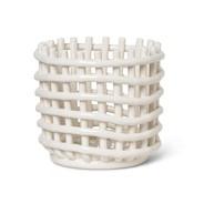 ferm LIVING - Panier Ceramic S