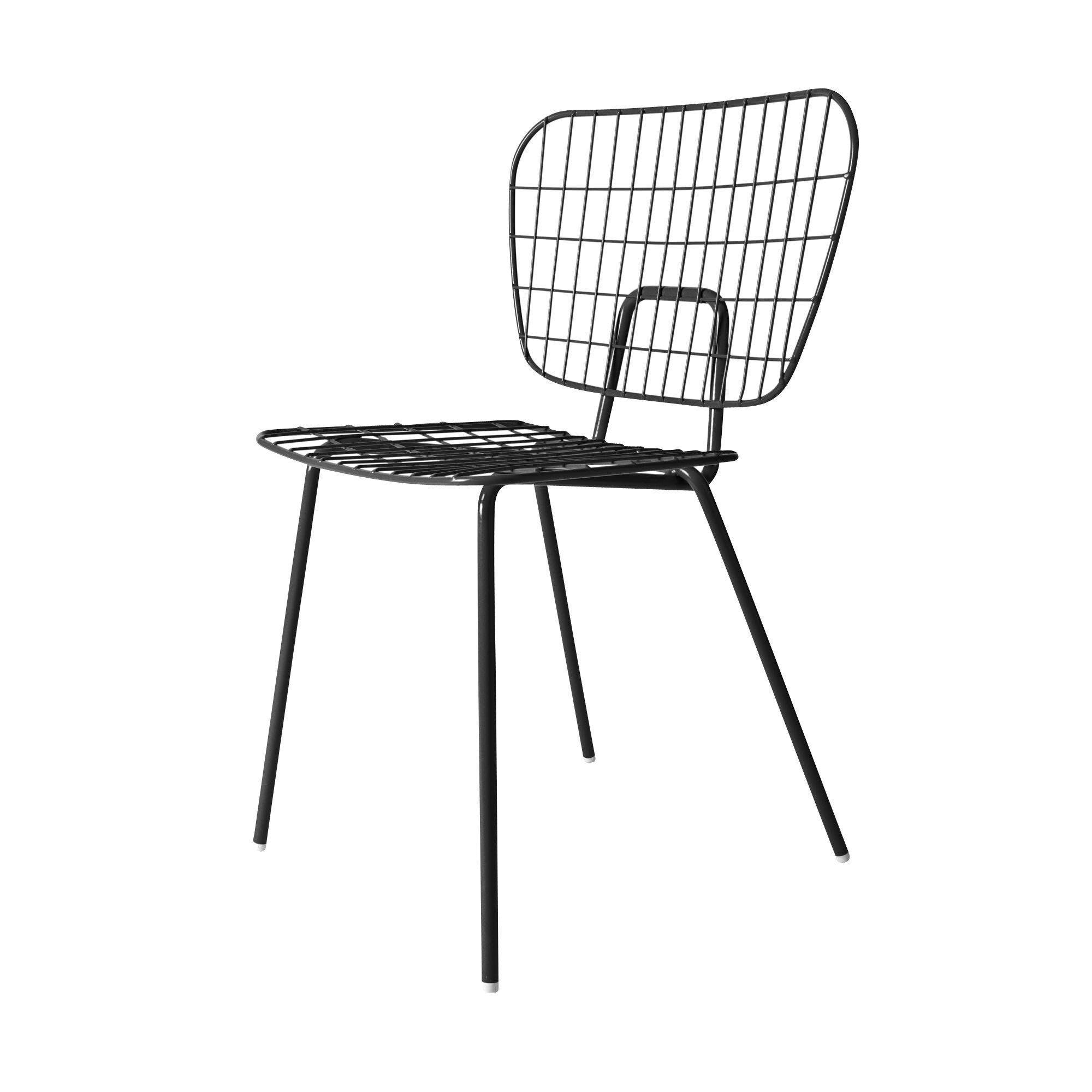 Menu   WM String Dining Chair Stuhl   Schwarz/für ...
