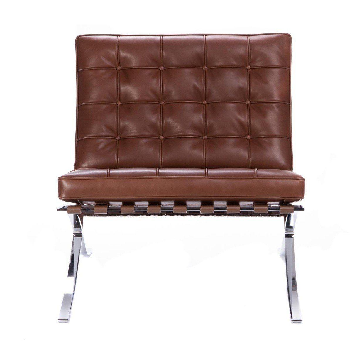 ... Knoll International   Barcelona Mies Van Der Rohe Relax Sessel ...