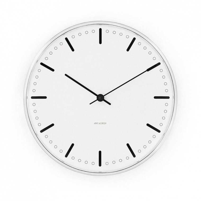 Rosendahl Design Group City Hall Wall Clock Ambientedirect