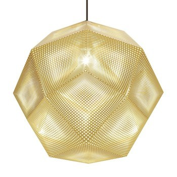 Tom Dixon - Etch Shade Pendelleuchte Ø50cm - messing