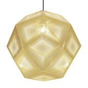 Tom Dixon - Etch Shade Suspension Lamp Ø50cm