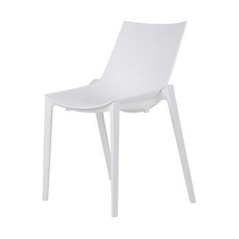 Magis - Zartan Basic Stuhl - weiß/für Innen- und Außenbereich geeignet/stapelbar (4)