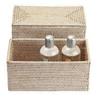 Decor Walther - Basket UTBMD Rattan Box With Cover