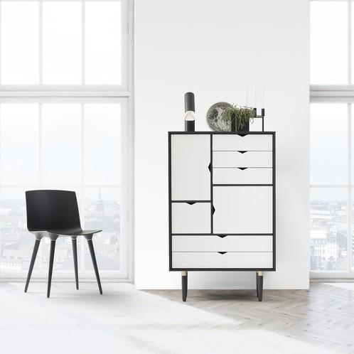 Andersen Furniture - Andersen Furniture S5 Kommode Fronten weiß
