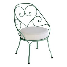 Fermob - 1900 Cabriolet Garden Armchair with Cushion