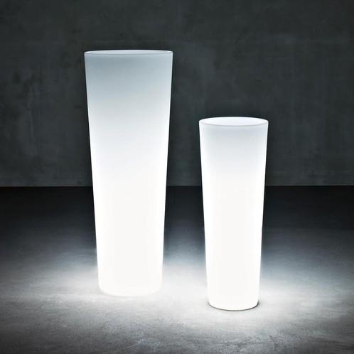 Serralunga - New Pot Maxi Vase mit Licht H 120cm