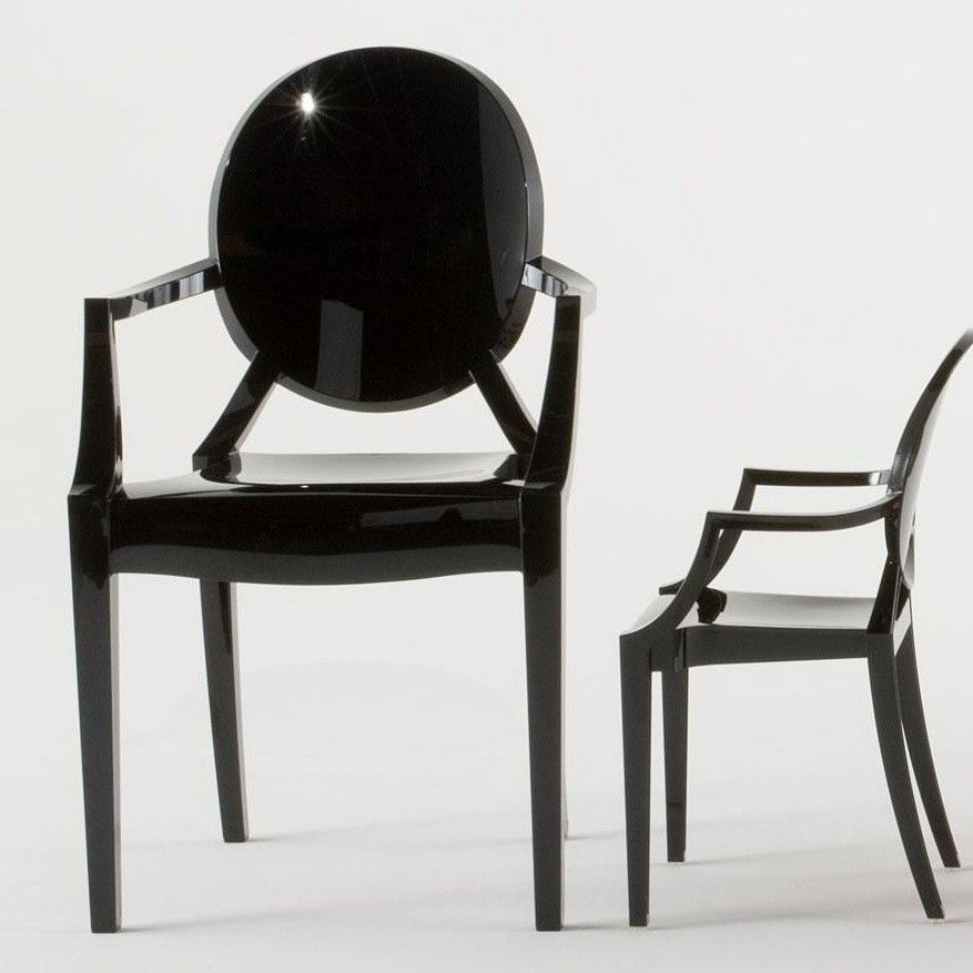louis ghost kit de 4 fauteuils kartell. Black Bedroom Furniture Sets. Home Design Ideas