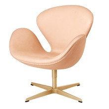 Fritz Hansen Swan Chair Sessel In Stoff Und Leder Ambientedirect