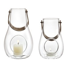 Holmegaard - Design with Light Lantern Set of 2