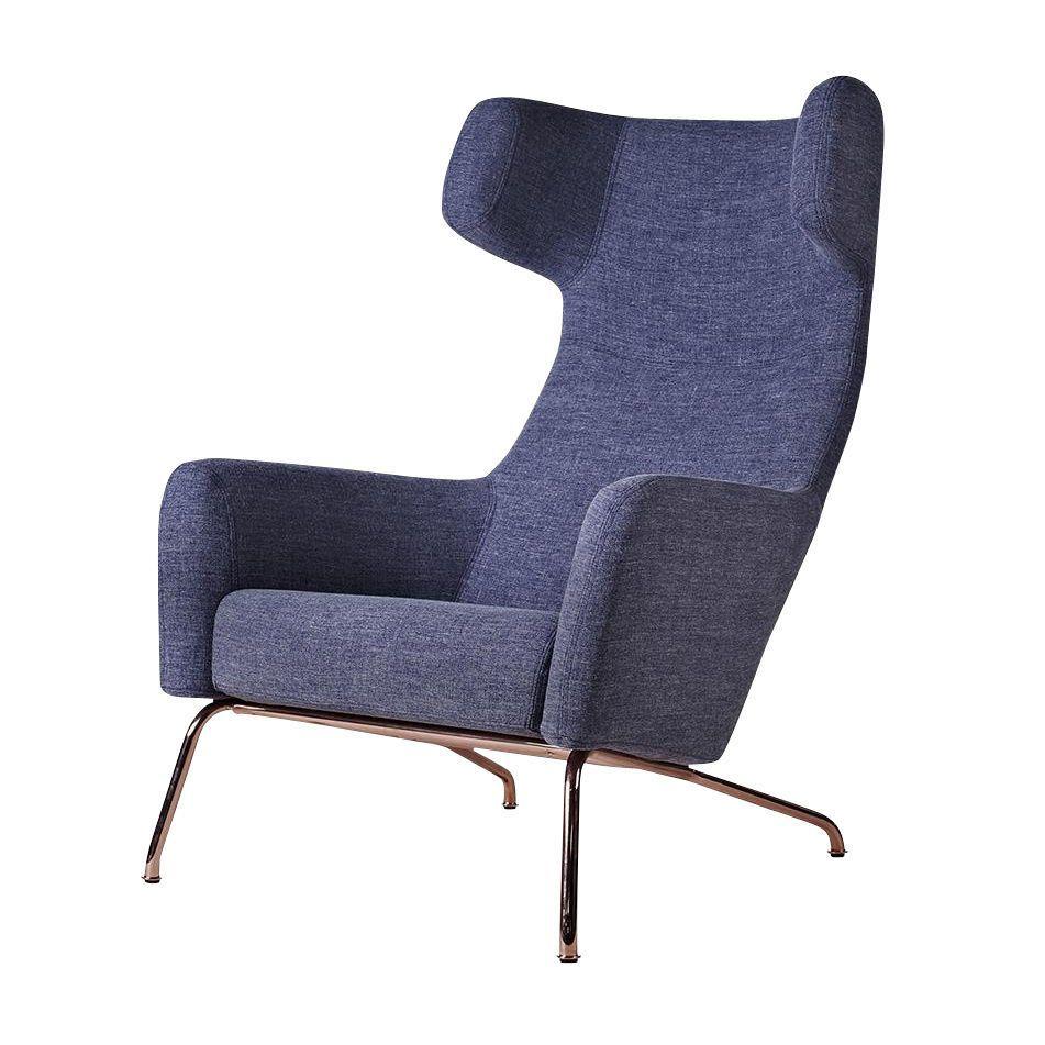 Wingback Chair Havana Wingback Chair Copper Frame Softline Ambientedirectcom