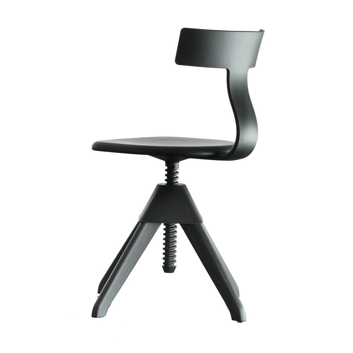 Magis   Tuffy The Wild Bunch Chair   Black/frame Laquered Black/rotating/