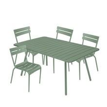 Fermob - Luxembourg Garten-Set 4 Stühle