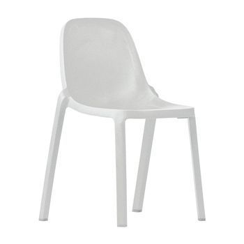 EMECO - Broom Chair Stuhl - weiß/H x B x T: 83 x 48 x 50cm