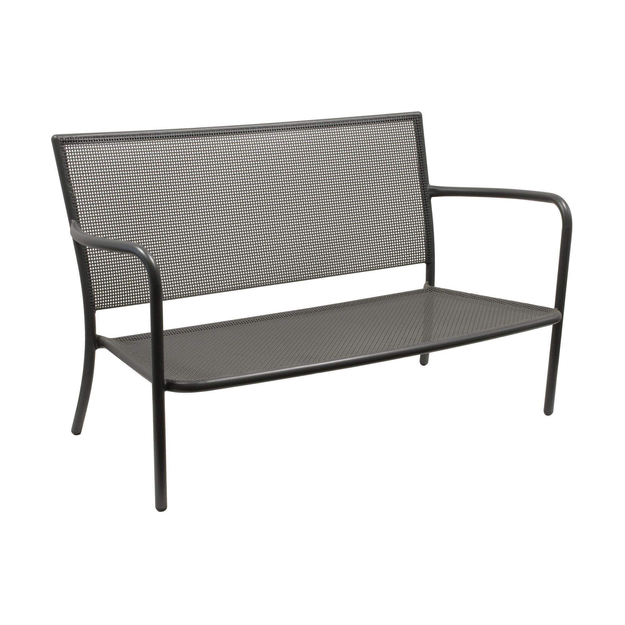 ... Emu   Athena 2 Seater Garden Sofa   Antique Iron/powder Coated/ ...