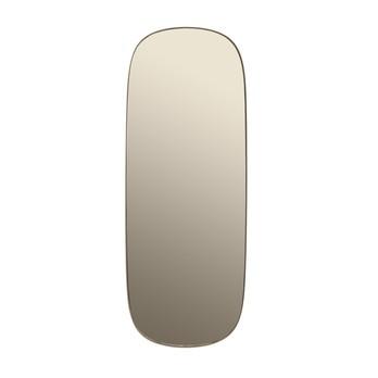 Muuto - Muuto Framed Mirror Spiegel 118x44,5cm - taupe/118x44.5cm