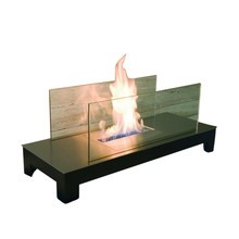 Radius - Floor Flame open fire