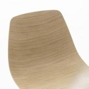 Lapalma - Miunn - Chaise avec piètement étoilé noir