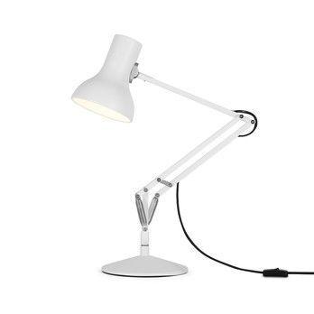 Anglepoise - Type 75 Mini LED-Schreibtischleuchte - Alpinweiß/matt/max. Höhe 50cm/2700K/300lm