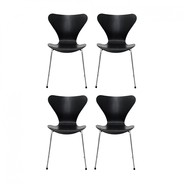 Fritz Hansen - Series 7 Chair Set Of 4