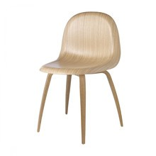 Gubi - Gubi 3D Dining Chair - Chaise structure chêne