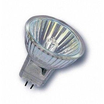 QualityLight - HALO Gu4 Spot 35W - klar/Glas/Energieeffizienzklasse f/Gewichteter Energieverbrauch 35 kW/1000 h