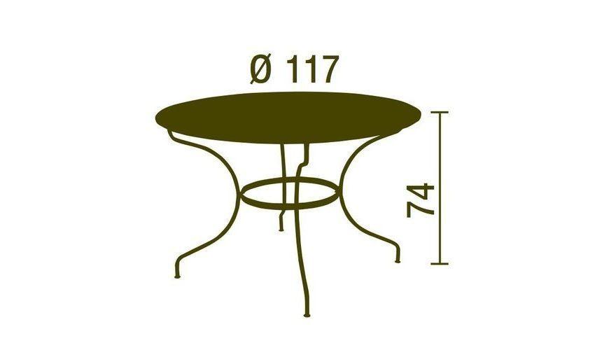 Opera - Table de Jardin | Fermob | AmbienteDirect.com