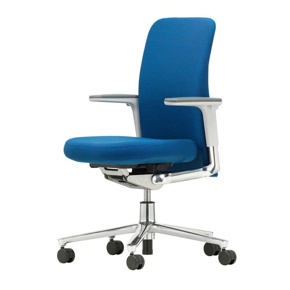pacific chair b rostuhl niedriger r cken vitra. Black Bedroom Furniture Sets. Home Design Ideas