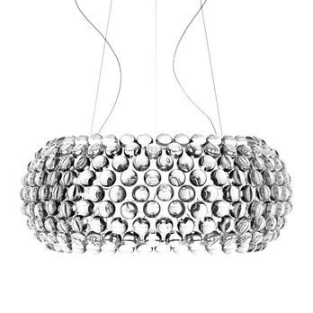 Foscarini - Caboche Grande LED Pendelleuchte - transparent/Methacrylat/3000K/4330 lm/H 28cm/ Ø70cm