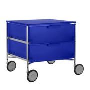 Kartell - Mobil 2 Container mit Rollen