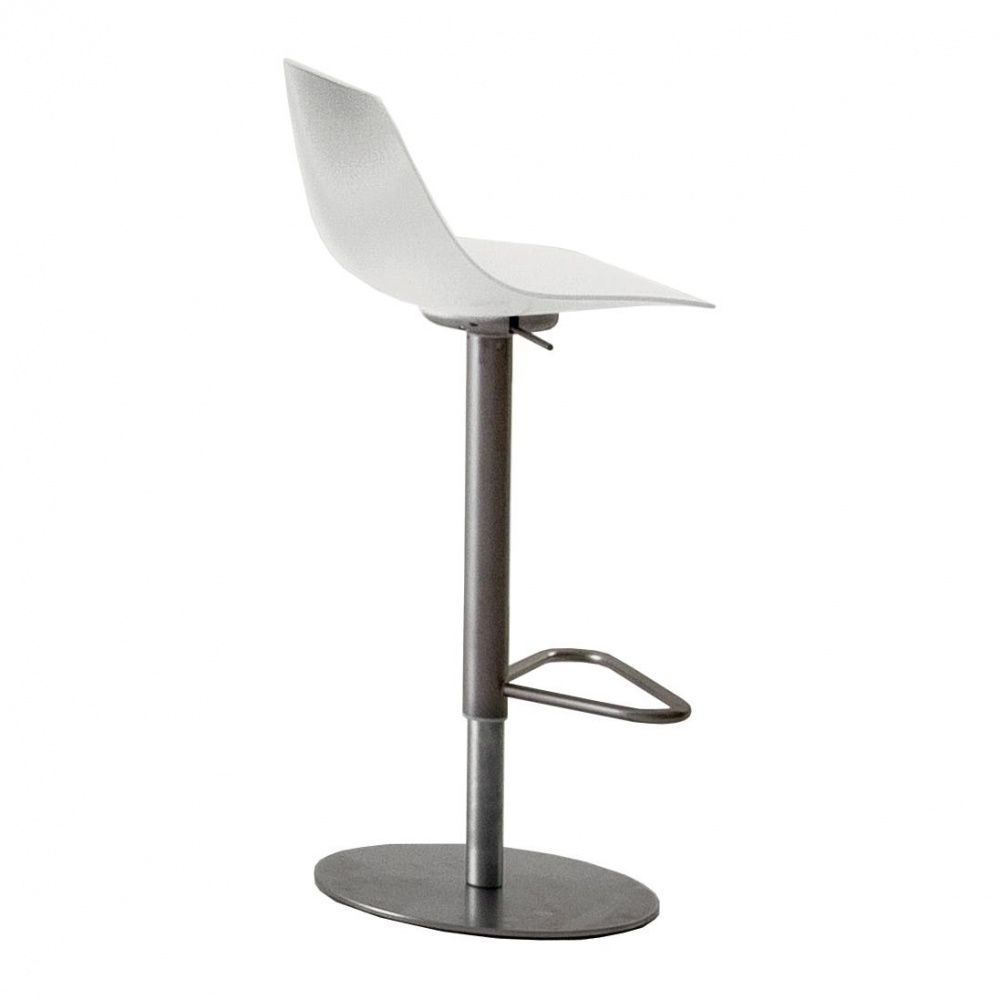 Miunn Bar Stool Stainless Steel Frame Round