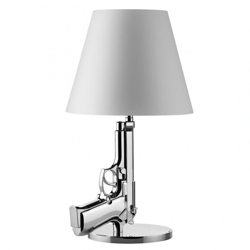 Bedside Gun Table Lamp | Flos | AmbienteDirect.com