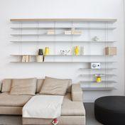 Molteni & C - Graduate Regalsystem   Ausstellungsstück - aluminium/grau/gebraucht/Einzelstück - nur einmal verfügbar!