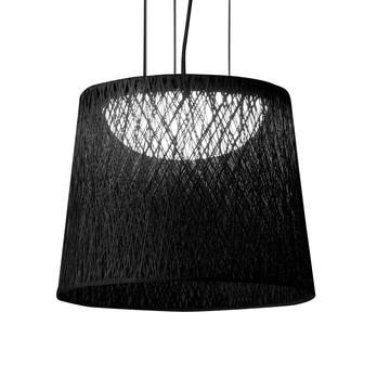 Vibia - Wind Outdoor Pendelleuchte - schwarz/Größe 2/48x60cm