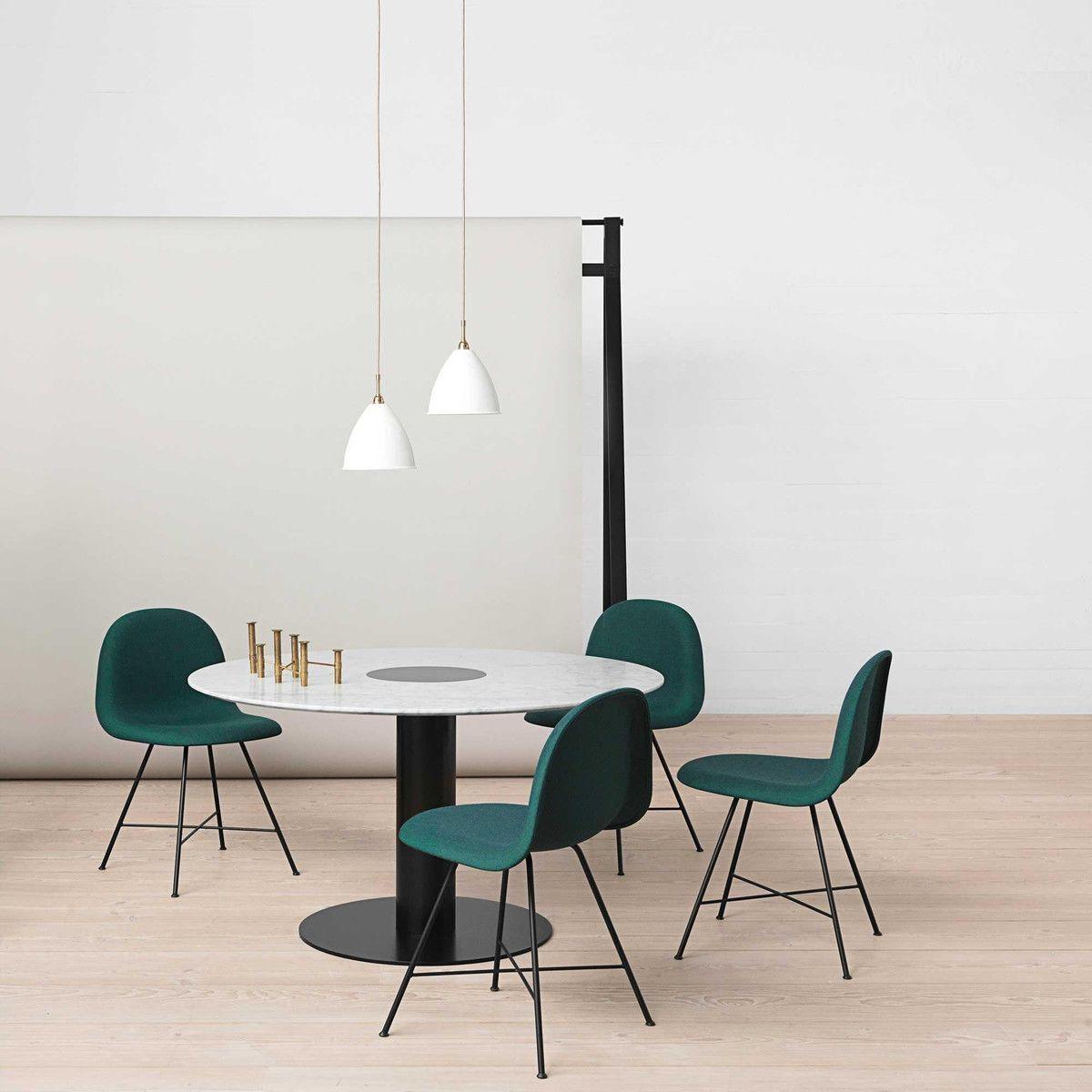 2 0 dining table tisch gestell schwarz 110cm gubi. Black Bedroom Furniture Sets. Home Design Ideas