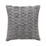- Stitch Kissenbezug 45x45cm - grau/Rückseite ohne Muster