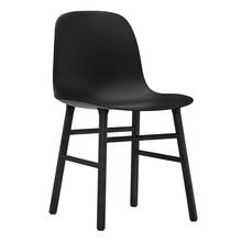 Normann Copenhagen - Form Stuhl Gestell Holz schwarz